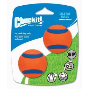 Chuckit Ultra Ball 2-pk Small 5 cm