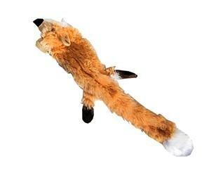Hundelegetøjs Skind Ræv - 55cm - Uden Fyld - - - - -