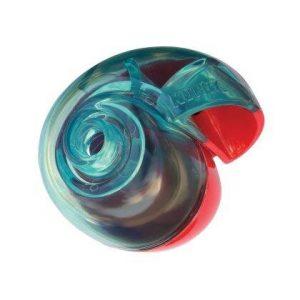 Kong Hunde Aktivitetslegetøjs Rewards Shell - Small - 10x8,8 cm - Støjsvag - Egnet til Foder og Godbidder - - - -