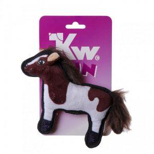 Kw Fun Hundelegetøjs Robust Hest - 20x15cm - Med Pivelyd