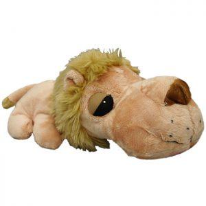 Kw Hundelegetøjs Bamse Løve Med Piv 26cm