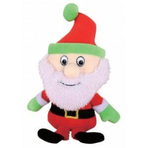 Kw Hundelegetøjs Julemand - 20cm - Med Pivelyd & Hat