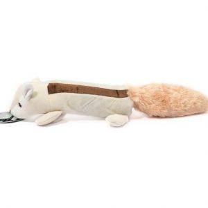 Petcare Hundelegetøjs Bamse Jordegern - Med Flaske - 45cm