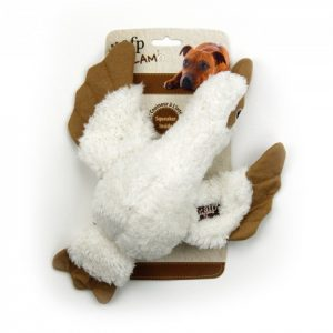afp Hundelegetøjs Bamse Tøjmåge - 30cm - Med Pivelyd