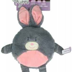 Bunny Puppy Flad Plyskanin - 28cm