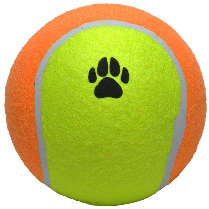 Hundelegetøjs XL Tennisbold - Ø15cm - Hård Bold