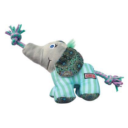 Kong Carnival Elefant - M/L - Med Reb og Pivelyd