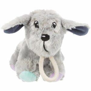 Trixie Junior Hvalpelegetøjs Plys Hunde Bamse - Med Pivelyd - 24cm