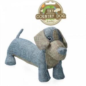 Country Dog Tiny Buddy Hundelegetøjs Bamse - Genbrugsplast - 31cm