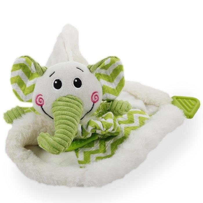 afp Hvalpelegetøjs Bamse Blanky Elefant - 40cm - Med Pivelyd